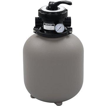 Bazénová písková filtrace se 4polohovým ventilem šedá 350 mm (91725)