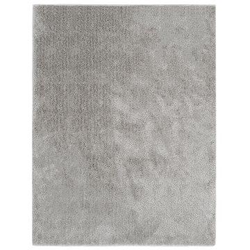 Kusový koberec Shaggy 80x150 cm šedý (285063)