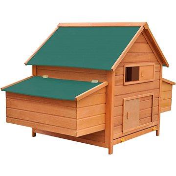Kurník dřevěný 157x97x110 cm (170410)