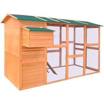 Kurník dřevěný 295x163x170 cm (170411)