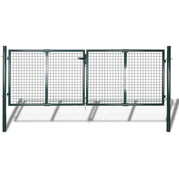 Zahradní plotová brána 289 × 75 cm / 306 × 125 cm pletivo
