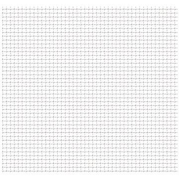 Zahradní pletivo vlnitá mřížka nerez ocel 100x85 cm 11x11x2 mm (142287)