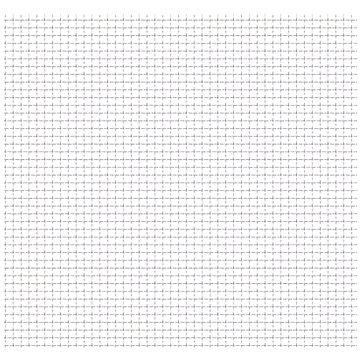 Zahradní pletivo vlnitá mřížka nerez ocel 50x50 cm 21x21x2,5 mm (142288)
