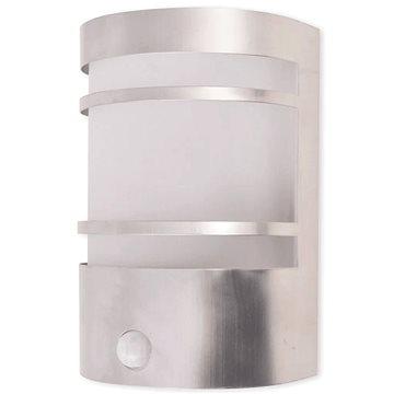 Venkovní nástěnné svítidlo s čidlem, nerezová ocel