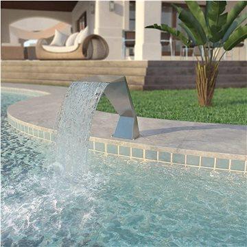 Bazénová fontána, nerezová ocel, 64x30x52 cm, stříbrná (43694)