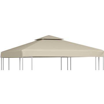 Nepromokavá náhradní střecha na altán 310g/m2 béžová 3x3m (40875)