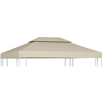 Nepromokavá náhradní střecha na altán 310g/m2 béžová 3x4m (40881)