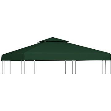 Nepromokavá náhradní střecha na altán 310g/m2 zelená 3x3m (40876)