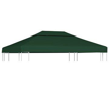 Nepromokavá náhradní střecha na altán 310g/m2 zelená 3x4m (40882)