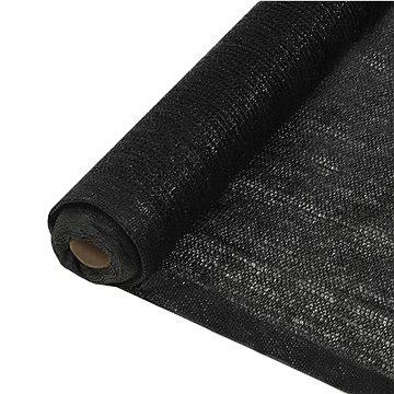 Stínící síť černá 1,5 x 10 m HDPE (45234)