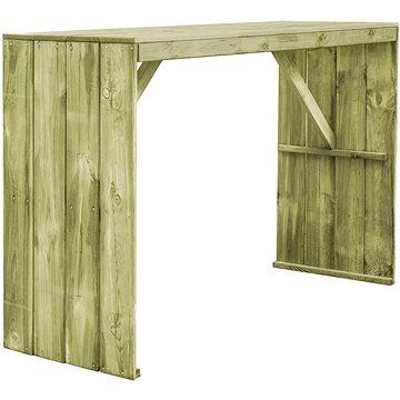 Barový stůl 170 x 60 x 110 cm impregnovaná borovice (44902)