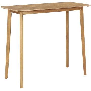 Barový stůl 120 x 60 x 105 cm masivní akáciové dřevo (44227)