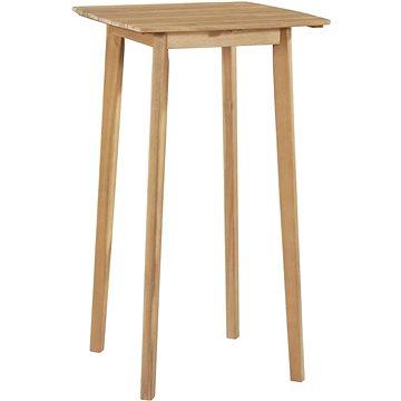 Barový stůl 60 x 60 x 105 cm masivní akáciové dřevo (44226)