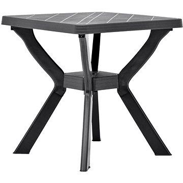Bistro stolek antracitový 70 x 70 x 72 cm plast (48801)