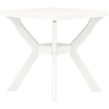 Bistro stolek bílý 70 x 70 x 72 cm plast (48799)