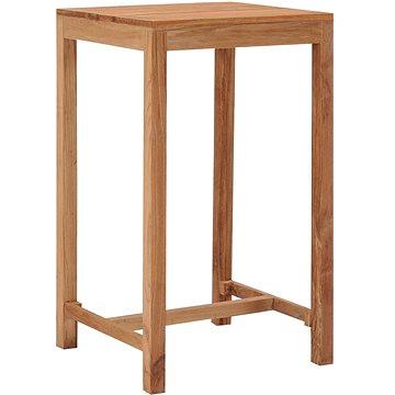 Zahradní barový stůl 60 x 60 x 105 cm masivní teakové dřevo (287235)