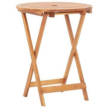 Skládací zahradní stůl 60 x 75 cm masivní akáciové dřevo (46346)