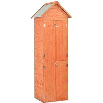 Zahradní domek na nářadí 71 x 60 x 213 cm dřevo (170649)