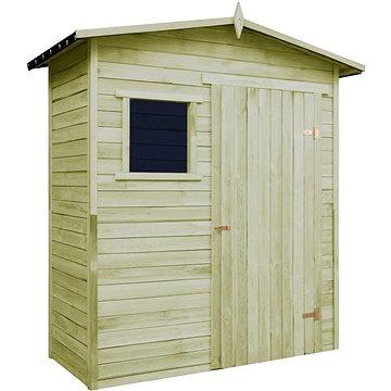Zahradní domek na nářadí impregnované borové dřevo (43326)