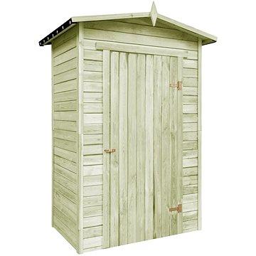 Zahradní domek na nářadí impregnované borové dřevo (43327)