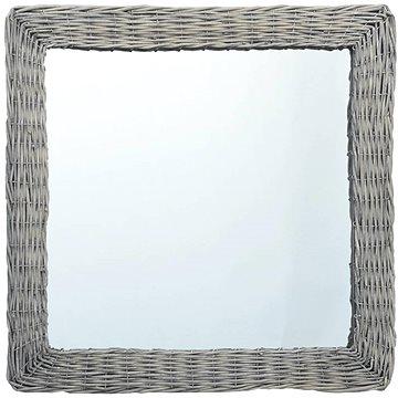 Zrcadlo 60 x 60 cm proutí (287624)