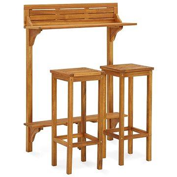 3dílný set zahradního nábytku masivní akáciové dřevo 310254 310254 (310254)