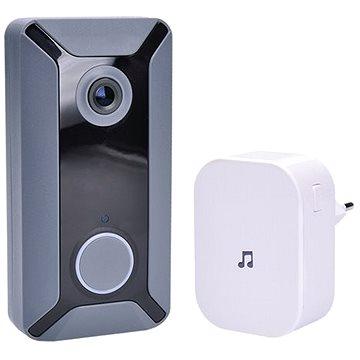 Solight Wi-Fi bezdrátový zvonek s kamerou (1L200)