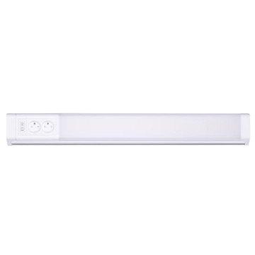 Solight LED kuchyňské svítidlo, 2x zásuvka, vypínač, 10W, 4100K, 51cm (WO213)