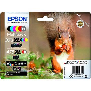 Epson 378XL + 478XL Multipack (C13T379D4010)