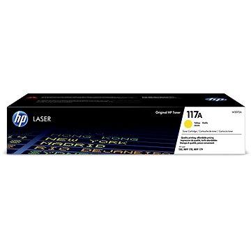 HP W2072A č. 117A žlutý originální (W2072A)