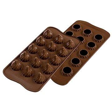 Silikomart Silikonová forma na čokoládu Silikomart SCG47 Choco Flame (22.147.77.0065)