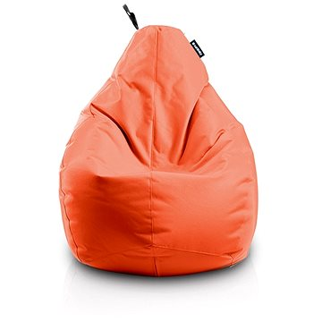 Sedací vak Hruška oranžový (8595653200393)