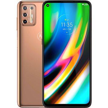 Motorola Moto G9 Plus 128GB zlatá (PAKM0013PL )