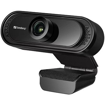 Sandberg USB Webcam Saver 1080P, černá (333-96)