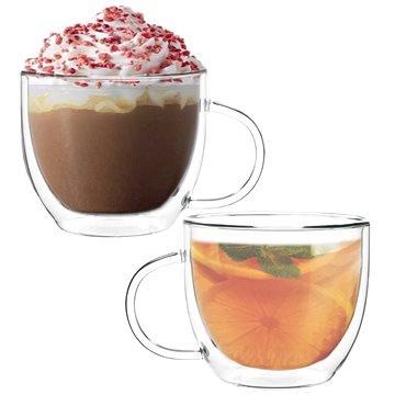 EzyStyle Coffee, dvoustěnné, 350 ml, set 2 ks (36208)