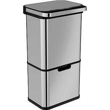 Home Bezdotykový odpadkový koš s ozonizérem 60L (36 + 24 L) (AK8860)