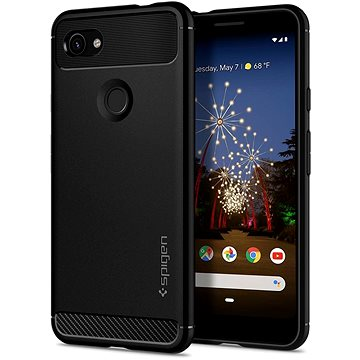 Spigen Rugged Armor Black Google Pixel 3a (F23CS25960)