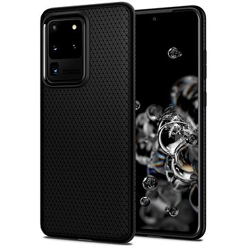 Spigen Liquid Air Black Samsung Galaxy S20 Ultra (ACS00712)