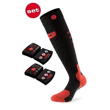 Lenz set heat sock 5.0 toe cap + lithium pack rcB 1200 /black-red (SPTLZ0072nad)