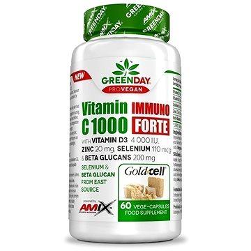 Amix Nutrition GreenDay® ProVEGAN Vitamin C 1000 Immuno FORTE, 60 kapslí (8594159532618)