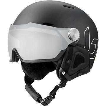 Bollé Might Visor Premium Mips Black Matte Photochromic Silver Mirror Lens Cat 1-2, vel. M (55-59 cm (054917356064)