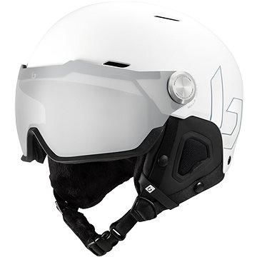 Bollé Might Visor Premium Mips White Matte Photochromic Silver Mirror Lens Cat 1-2 (SPTbo363nad)
