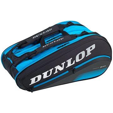 Dunlop FX Performance Bag 12 raket Thermo, černá/modrá (045566920720)