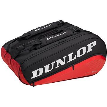 DUNLOP CX Performance Bag 12 raket Thermo černá/červená (0045566922137 )