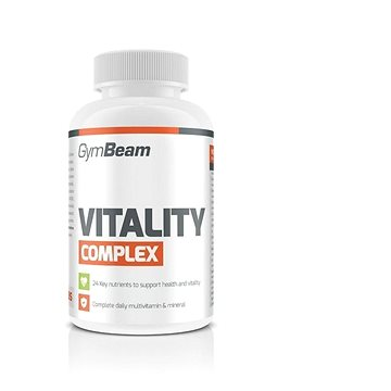 GymBeam Multivitamín Vitality complex 120 tbl (8588006485660)