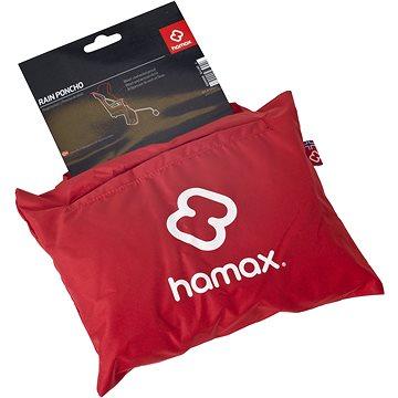 Hamax Pláštěnka k cyklosedačce -červená (7029775900028)