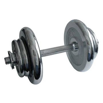 Acra Nakládací činka chromová 17 kg (8595042736908)