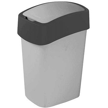 Curver odpadkový koš Flipbin 10L šedý (02170-686)
