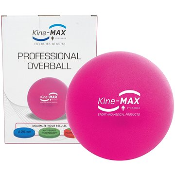 Kine-MAX Professional OverBall - růžový (8592822000785)
