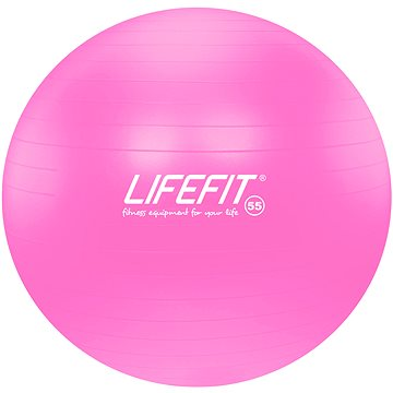 LifeFit anti-burst 55 cm, růžový (4891223101355)